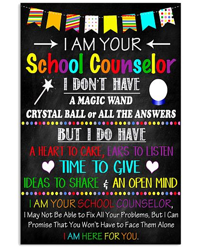 I Am Your School Counselor