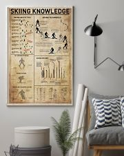 Skiing Knowledge 11x17 Poster lifestyle-poster-1