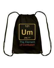 The Element Of Confusion Drawstring Bag thumbnail