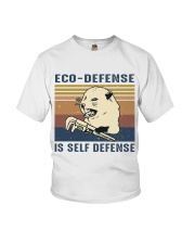 Eco Defense Is Self Defense Youth T-Shirt tile