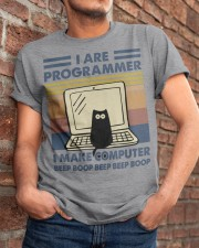 I Make Computer Classic T-Shirt apparel-classic-tshirt-lifestyle-26