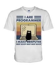 I Make Computer V-Neck T-Shirt thumbnail