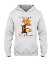 Most Wonderful Time Of Years Hooded Sweatshirt front