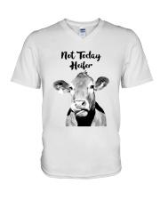 Not Today Heifer 2 V-Neck T-Shirt thumbnail