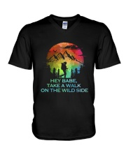 Take A Walk On The Wild Side V-Neck T-Shirt thumbnail