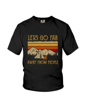 Lets Go Far Away From People Youth T-Shirt thumbnail