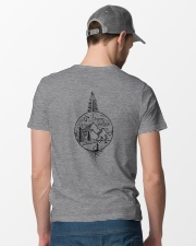 And Into The Forest I Go Classic T-Shirt lifestyle-mens-crewneck-back-6