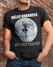 Hello Darkness My Old Friend Classic T-Shirt apparel-classic-tshirt-lifestyle-26