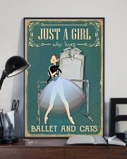 Just A Girl 11x17 Poster lifestyle-poster-2