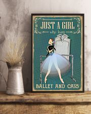Just A Girl 11x17 Poster lifestyle-poster-3