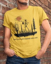 Not All Who Wander Are Lost Classic T-Shirt apparel-classic-tshirt-lifestyle-26