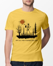 Not All Who Wander Are Lost Classic T-Shirt lifestyle-mens-crewneck-front-13