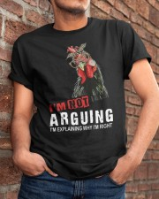 I'm Not Arguing Classic T-Shirt apparel-classic-tshirt-lifestyle-26