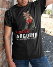 I'm Not Arguing Classic T-Shirt apparel-classic-tshirt-lifestyle-27