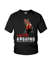 I'm Not Arguing Youth T-Shirt thumbnail
