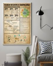 Human Resources Knowledge 11x17 Poster lifestyle-poster-1