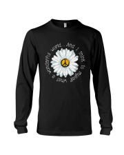 Myself What A Wonderful World Long Sleeve Tee thumbnail