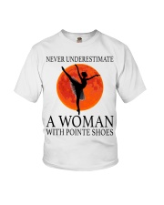 A Woman With Pointe Shoes Youth T-Shirt thumbnail
