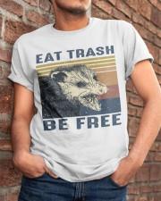 Eat Trash Be Fre-ee Classic T-Shirt apparel-classic-tshirt-lifestyle-26