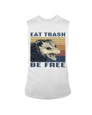 Eat Trash Be Fre-ee Sleeveless Tee thumbnail