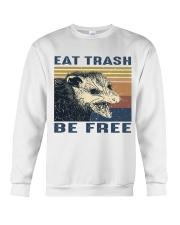 Eat Trash Be Fre-ee Crewneck Sweatshirt thumbnail