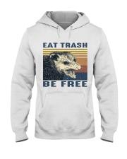 Eat Trash Be Fre-ee Hooded Sweatshirt thumbnail