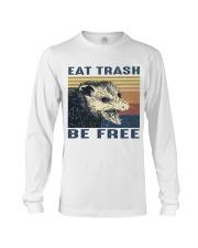 Eat Trash Be Fre-ee Long Sleeve Tee thumbnail