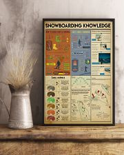Snowboarding Knowledge 11x17 Poster lifestyle-poster-3