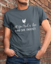 All You Need Is Love Classic T-Shirt apparel-classic-tshirt-lifestyle-26