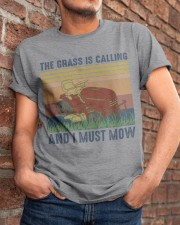 The Grass Is Calling Classic T-Shirt apparel-classic-tshirt-lifestyle-26