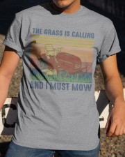 The Grass Is Calling Classic T-Shirt apparel-classic-tshirt-lifestyle-28