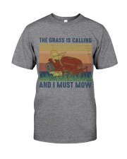 The Grass Is Calling Classic T-Shirt front