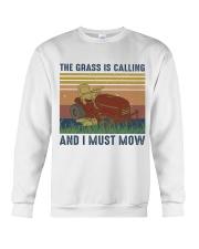 The Grass Is Calling Crewneck Sweatshirt thumbnail
