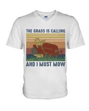 The Grass Is Calling V-Neck T-Shirt thumbnail