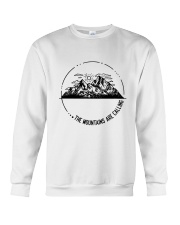 The Mountains Are Calling Crewneck Sweatshirt tile