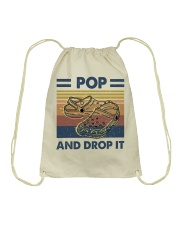Pop And Drop It Drawstring Bag thumbnail