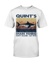 Shark Fishing Classic T-Shirt front