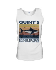 Shark Fishing Unisex Tank thumbnail