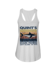 Shark Fishing Ladies Flowy Tank thumbnail