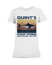 Shark Fishing Premium Fit Ladies Tee thumbnail