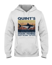 Shark Fishing Hooded Sweatshirt thumbnail