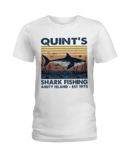 Shark Fishing Ladies T-Shirt thumbnail