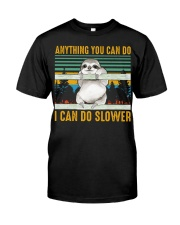 I Can Do Slower Classic T-Shirt thumbnail