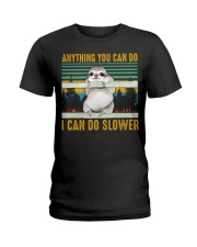 I Can Do Slower Ladies T-Shirt thumbnail