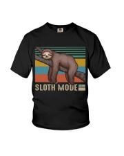 Sloth Mode Youth T-Shirt thumbnail