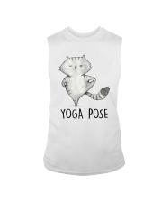 Yoga Pose Sleeveless Tee thumbnail