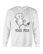 Yoga Pose Crewneck Sweatshirt thumbnail