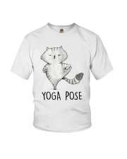 Yoga Pose Youth T-Shirt thumbnail
