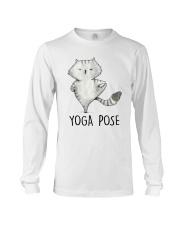 Yoga Pose Long Sleeve Tee thumbnail