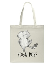 Yoga Pose Tote Bag thumbnail